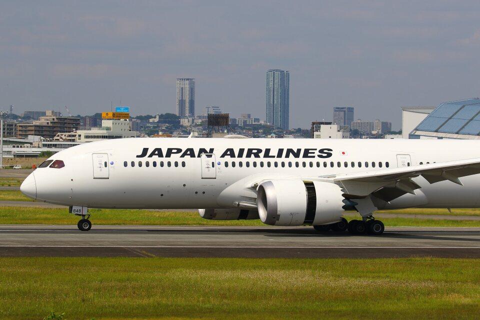 khideさんの日本航空 Boeing 787-8 Dreamliner (JA848J) 航空フォト
