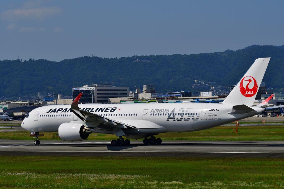 天心さんの日本航空 Airbus A350-900 (JA02XJ) 航空フォト