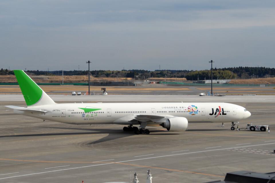 banshee02さんの日本航空 Boeing 777-300 (JA731J) 航空フォト