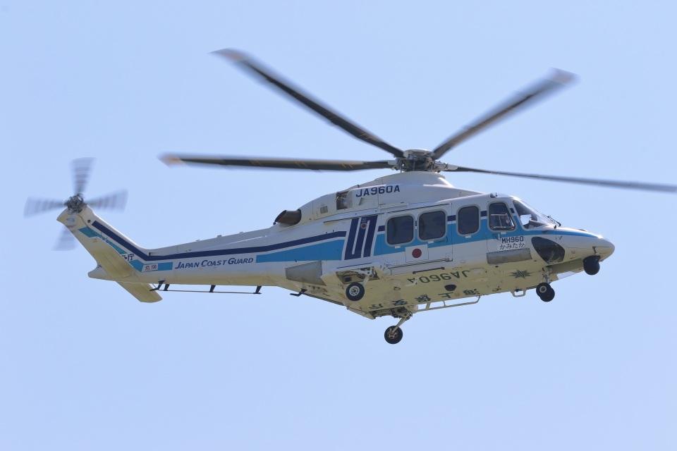 レガシィさんの海上保安庁 AgustaWestland AW139 (JA960A) 航空フォト