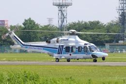 レガシィさんが、宇都宮飛行場で撮影した海上保安庁 AW139の航空フォト(飛行機 写真・画像)