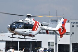 ヘリオスさんが、東京ヘリポートで撮影した中日本航空 EC135P2の航空フォト(飛行機 写真・画像)