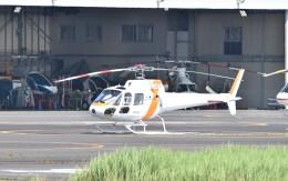 ヘリオスさんが、東京ヘリポートで撮影した東邦航空 AS350B2 Ecureuilの航空フォト(飛行機 写真・画像)