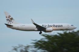 木人さんが、成田国際空港で撮影したエア・インチョン 737-86J/SFの航空フォト(飛行機 写真・画像)
