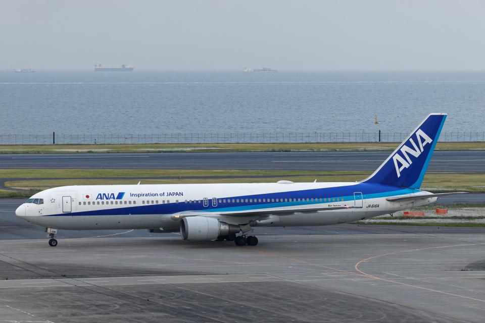 SGR RT 改さんの全日空 Boeing 767-300 (JA616A) 航空フォト