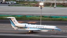 誘喜さんが、羽田空港で撮影した海上保安庁 G-V Gulfstream Vの航空フォト(飛行機 写真・画像)