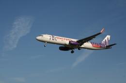 ひこりんさんが、成田国際空港で撮影した香港エクスプレス A321-231の航空フォト(飛行機 写真・画像)