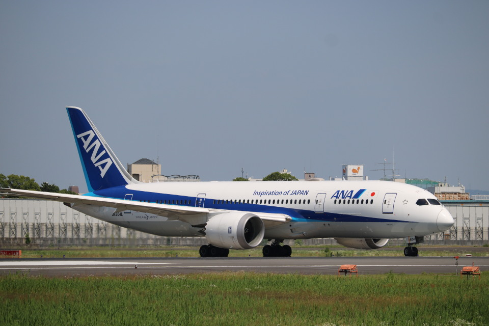 なかすぃ~さんの全日空 Boeing 787-8 Dreamliner (JA804A) 航空フォト
