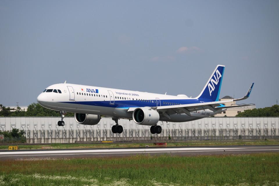 なかすぃ~さんの全日空 Airbus A321neo (JA150A) 航空フォト