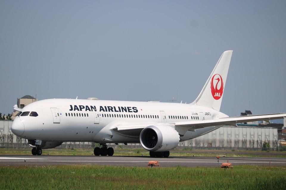 なかすぃ~さんの日本航空 Boeing 787-8 Dreamliner (JA847J) 航空フォト