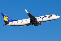 Yukio a.k.a Yu Worksさんが、福岡空港で撮影したスカイマーク 737-86Nの航空フォト(飛行機 写真・画像)