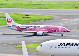 プリンスさんが、羽田空港で撮影した日本トランスオーシャン航空 737-446の航空フォト(飛行機 写真・画像)