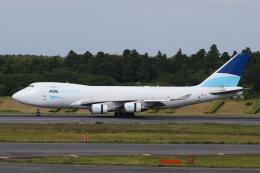 宮崎 育男さんが、成田国際空港で撮影したASLエアラインズ・ベルギー 747-409F/SCDの航空フォト(飛行機 写真・画像)