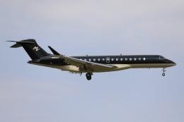 A350XWB-HNDさんが、成田国際空港で撮影したプライベート BD-700 Global Express/7000/8000の航空フォト(飛行機 写真・画像)