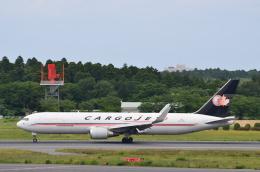 チョロ太さんが、成田国際空港で撮影したカーゴジェット・エアウェイズ 767-323/ERの航空フォト(飛行機 写真・画像)