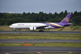 厦龙さんが、成田国際空港で撮影したタイ国際航空 777-2D7/ERの航空フォト(飛行機 写真・画像)