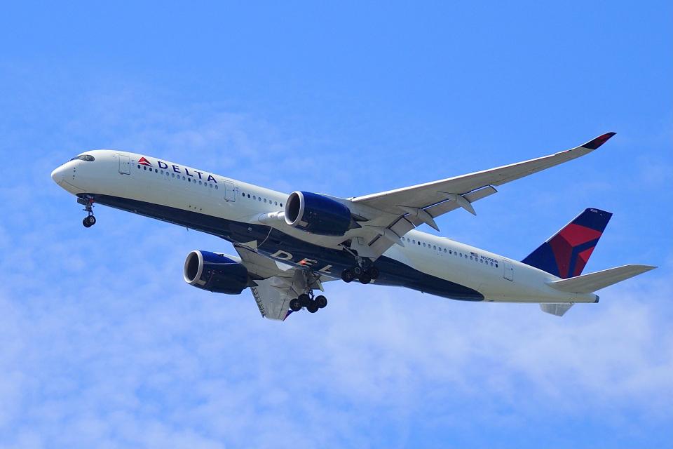 飛行機ゆうちゃんさんのデルタ航空 Airbus A350-900 (N509DN) 航空フォト