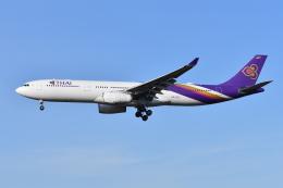 Deepさんが、成田国際空港で撮影したタイ国際航空 A330-343Xの航空フォト(飛行機 写真・画像)