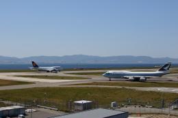 MOHICANさんが、関西国際空港で撮影したキャセイパシフィック航空 747-467の航空フォト(飛行機 写真・画像)