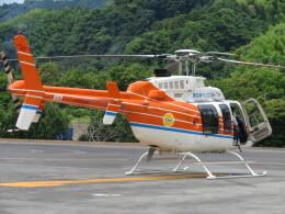 ランチパッドさんが、静岡ヘリポートで撮影した新日本ヘリコプター 407の航空フォト(飛行機 写真・画像)