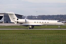 chrisshoさんが、シュトゥットガルト空港で撮影したアメリカ空軍 C-37A Gulfstream V (G-V)の航空フォト(飛行機 写真・画像)