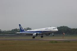 Tomochanさんが、函館空港で撮影した全日空 A321-272Nの航空フォト(飛行機 写真・画像)