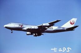 tassさんが、成田国際空港で撮影した日本航空 747-246F/SCDの航空フォト(飛行機 写真・画像)