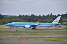 厦龙さんが、成田国際空港で撮影したKLMオランダ航空 777-306/ERの航空フォト(飛行機 写真・画像)