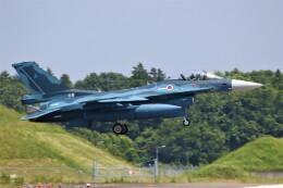 電車の運転士さんが、茨城空港で撮影した航空自衛隊 F-2Aの航空フォト(飛行機 写真・画像)
