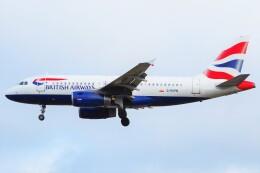 ちっとろむさんが、ロンドン・ヒースロー空港で撮影したブリティッシュ・エアウェイズ A319-131の航空フォト(飛行機 写真・画像)