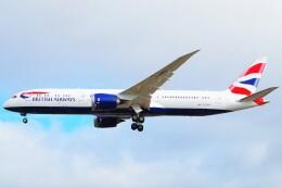 ちっとろむさんが、ロンドン・ヒースロー空港で撮影したブリティッシュ・エアウェイズ 787-9の航空フォト(飛行機 写真・画像)
