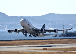 MOHICANさんが、関西国際空港で撮影したタイ国際航空 747-4D7の航空フォト(飛行機 写真・画像)
