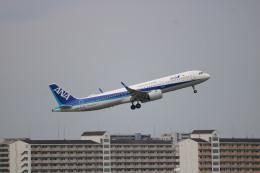 なかすぃ~さんが、伊丹空港で撮影した全日空 A321-272Nの航空フォト(飛行機 写真・画像)