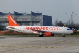 TA27さんが、パリ シャルル・ド・ゴール国際空港で撮影したイージージェット A320-214の航空フォト(飛行機 写真・画像)