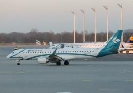 TA27さんが、ミュンヘン・フランツヨーゼフシュトラウス空港で撮影したエア・ドロミティ ERJ-190-200 LR (ERJ-195LR)の航空フォト(飛行機 写真・画像)