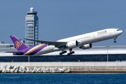 Ariesさんが、関西国際空港で撮影したタイ国際航空 777-3D7/ERの航空フォト(飛行機 写真・画像)