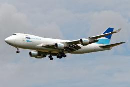 Cozy Gotoさんが、成田国際空港で撮影したASLエアラインズ・ベルギー 747-409F/SCDの航空フォト(飛行機 写真・画像)