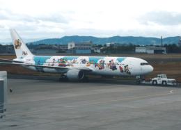 プルシアンブルーさんが、仙台空港で撮影した日本航空 767-346の航空フォト(飛行機 写真・画像)