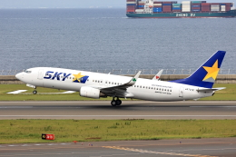 わんだーさんが、中部国際空港で撮影したスカイマーク 737-82Yの航空フォト(飛行機 写真・画像)