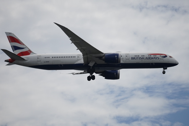 レドームさんが、羽田空港で撮影したブリティッシュ・エアウェイズ 787-9の航空フォト(飛行機 写真・画像)