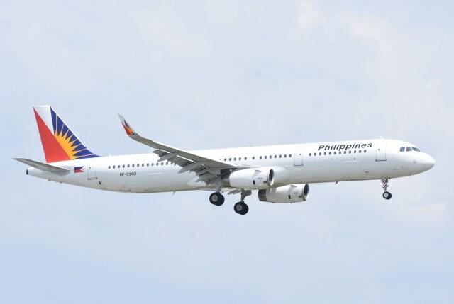 M.Tさんが、関西国際空港で撮影したフィリピン航空 A321-231の航空フォト(飛行機 写真・画像)