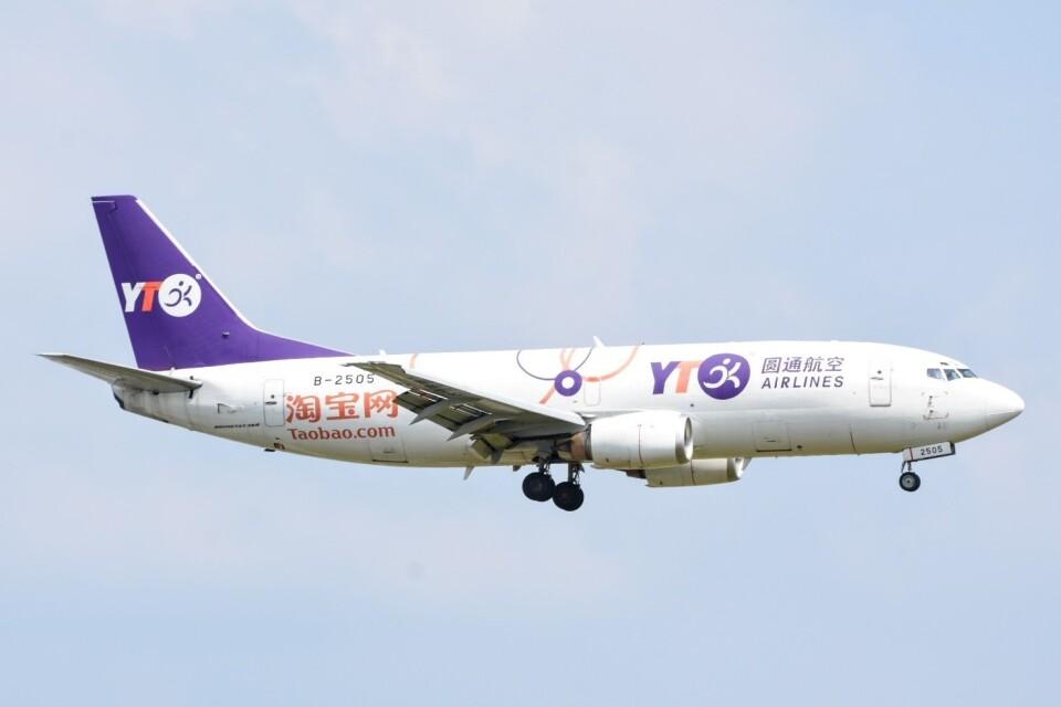 M.TさんのYTOカーゴ・エアラインズ Boeing 737-300 (B-2505) 航空フォト