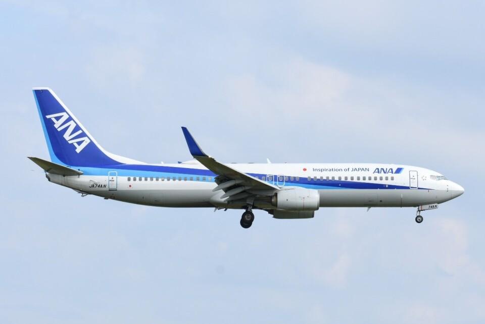 M.Tさんの全日空 Boeing 737-800 (JA74AN) 航空フォト