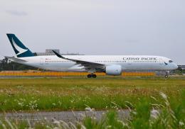 雲霧さんが、成田国際空港で撮影したキャセイパシフィック航空 A350-941の航空フォト(飛行機 写真・画像)
