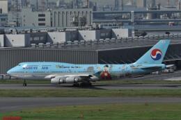 kumagorouさんが、羽田空港で撮影した大韓航空 747-4B5の航空フォト(飛行機 写真・画像)