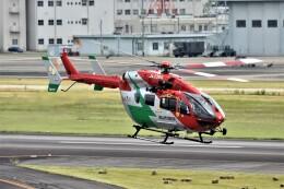 MSN/PFさんが、名古屋飛行場で撮影した岡山市消防航空隊 BK117C-2の航空フォト(飛行機 写真・画像)