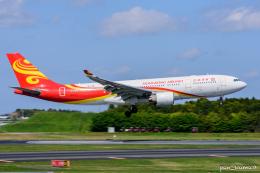 ぱん_くまさんが、成田国際空港で撮影した香港航空 A330-223の航空フォト(飛行機 写真・画像)