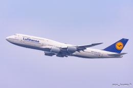 ぱん_くまさんが、羽田空港で撮影したルフトハンザドイツ航空 747-830の航空フォト(飛行機 写真・画像)