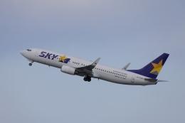 OS52さんが、羽田空港で撮影したスカイマーク 737-8FZの航空フォト(飛行機 写真・画像)