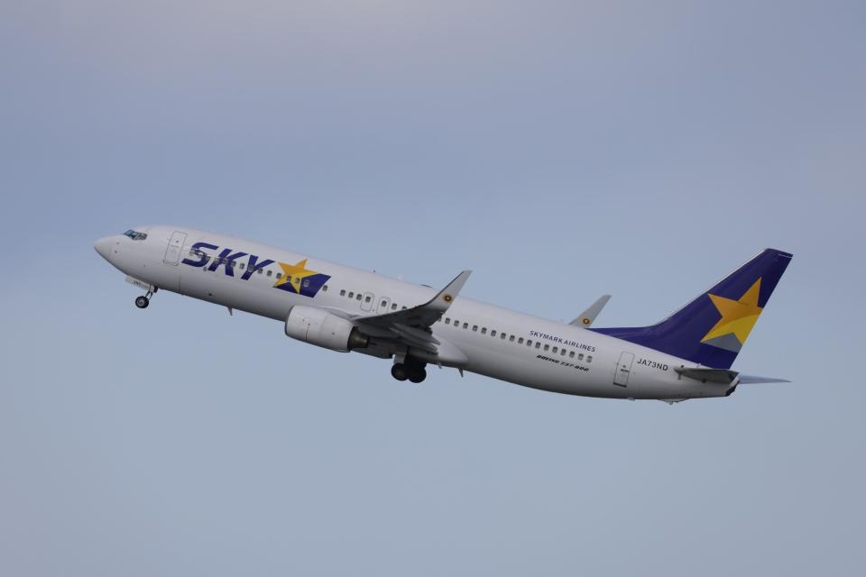 OS52さんのスカイマーク Boeing 737-800 (JA73ND) 航空フォト